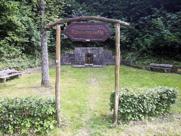 roemerquelle in arzbach im taunus